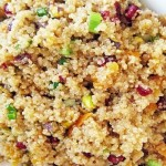 Quinoa with Asian Dressing