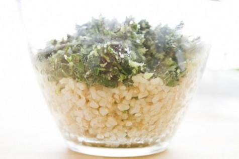 coconut kale bowl