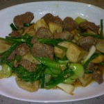 Stir-Fried Beef with Honey Miso Sauce