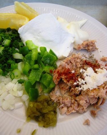 Creamy Tuna Dip ingredients