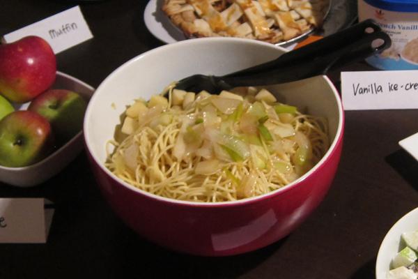 Apple Pasta