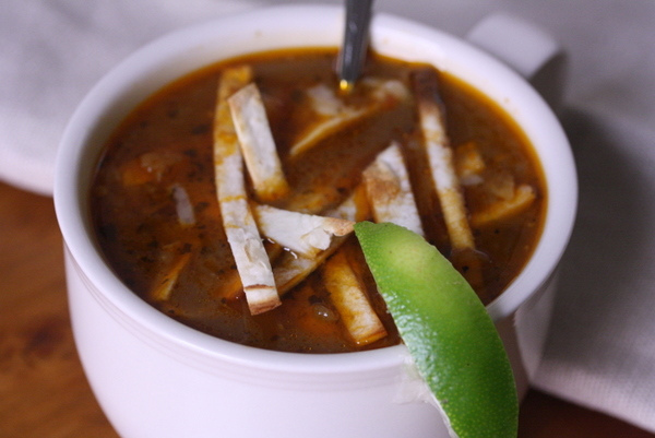 Small Kitchen College 187 One Pot Stop Chicken Tortilla Soup
