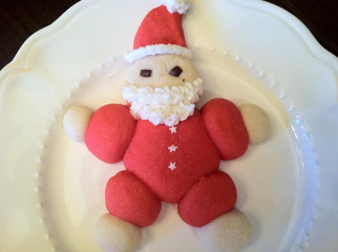 Small Kitchen College Procrastination Cooking Roly Poly Santas