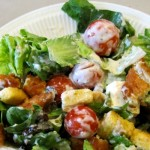 Pack some protein and vitamins into your salad to get that extra push for finals-week.
