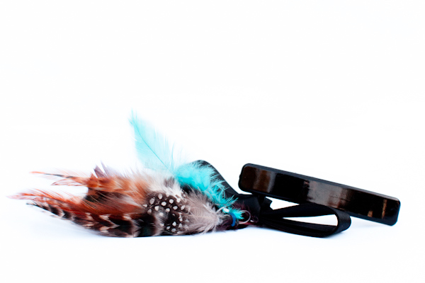 feather hairclip 600-2