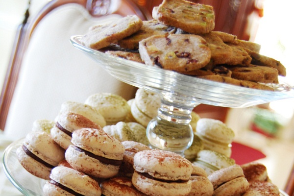 Add variety to your cookie buffet with an assortment of cookie slices and sandwiches.