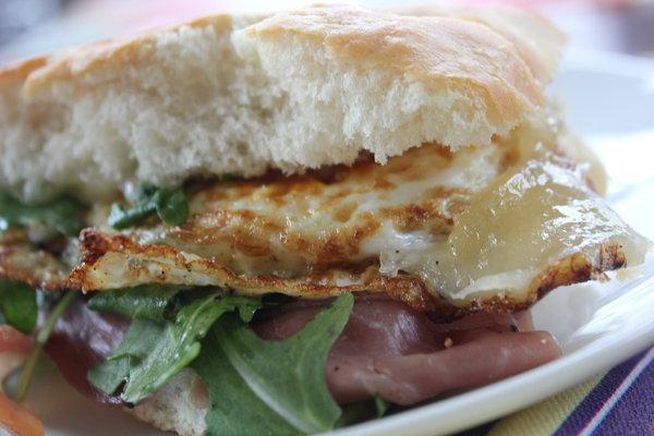 """Prosciutto Arugula Sandwich to """"prosciutto And Arugula"""