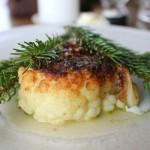 Roasted cauliflower and pine