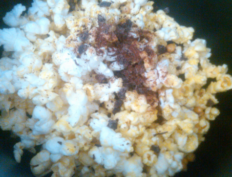popcorn with seasoning