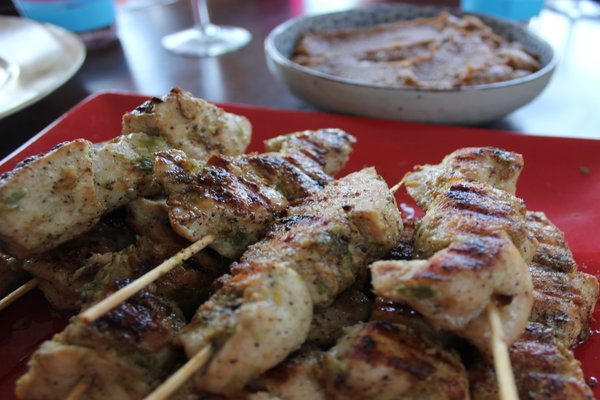 ... » Money Mindful Meals: Chicken Satay with Peanut Dipping Sauce