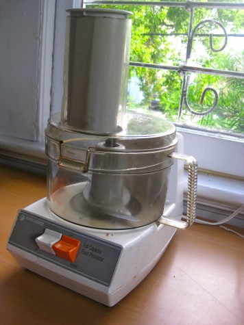Food Processor Suddenly Stopped