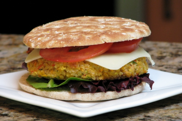 Homemade Veggie Burgers Recipes — Dishmaps